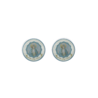 *Immaculate Virgin Mary Ora Pro Nobis Earrings