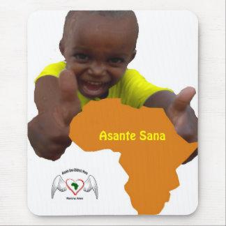 immagine calendario, logo, Asante Sana Mouse Pad