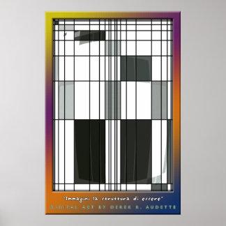 Immagini la Struttura di Essere Poster