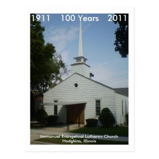 Immanuel 100 Years Postcard