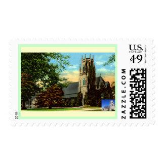 IMMANUEL CHURCH BELLOWS-FALLS  VERMONT POSTAGE