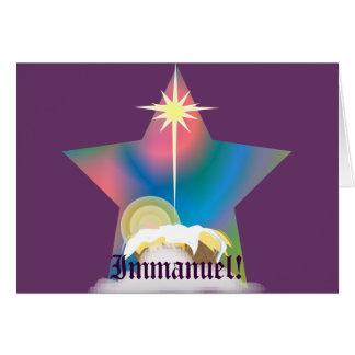 Immanuel!-Customize Card