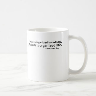 Immanuel Kant Quotation Classic White Coffee Mug