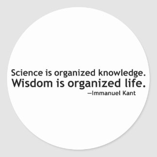 Immanuel Kant Quotation Stickers