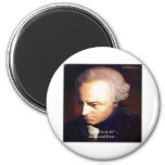 "Immanuel Kant ""To Do"" Wisdom Quote Gifts & Tees Refrigerator Magnets"