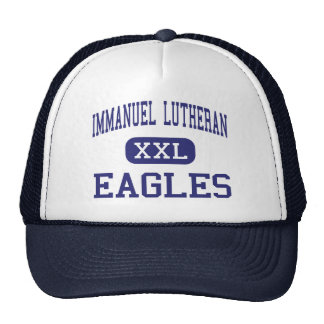 Immanuel Lutheran - Eagles - High - Eau Claire Trucker Hat
