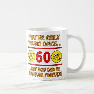 Immature 60th Birthday Gag Gifts Coffee Mug