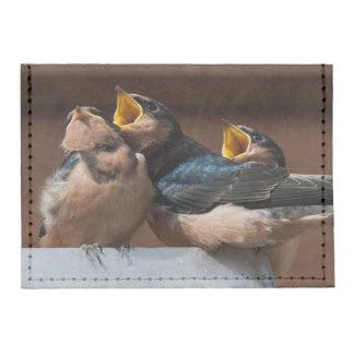 Immature Barn Swallow (Hirundo Rustica) Tyvek® Card Wallet