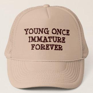 Immature Forever Trucker Hat