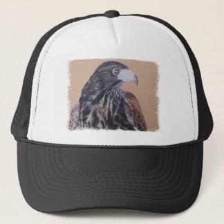 Immature Harris Hawk Trucker Hat