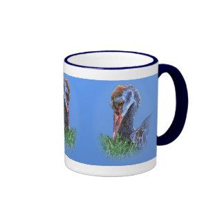 Immature Sandhill Crane Mug