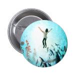 Immerse Ocean Pinback Button