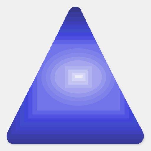 Immersed in Blue Modern Art Design CricketDiane Stickers