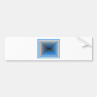 Immersed in Grey Modern Art Design CricketDiane Car Bumper Sticker