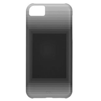 Immersed in Grey Modern Art Design CricketDiane Cover For iPhone 5C
