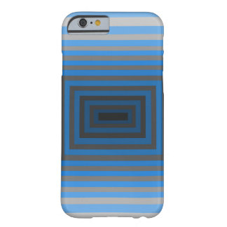 Immersed in Grey Modern Art Design iphone6 Barely There iPhone 6 Case