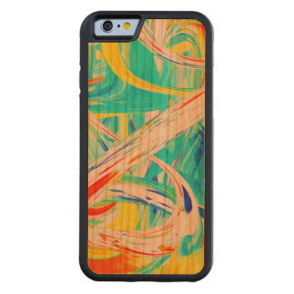 Immersed in Vividness Abstract Carved® Cherry iPhone 6 Bumper