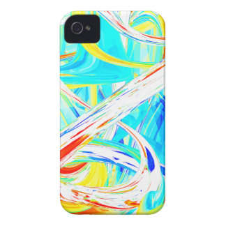 Immersed in Vividness Abstract iPhone 4 Case