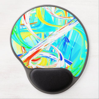 Immersed in Vividness Abstract Gel Mousepad