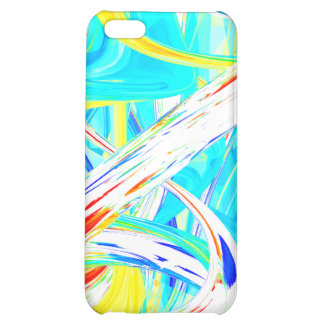 Immersed in Vividness Abstract Cover For iPhone 5C