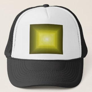 Immersed in Yellow Modern Art Design CricketDiane Trucker Hat