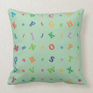 Immersive Learning Alphabet Pillow