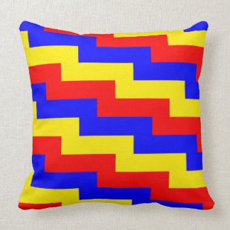 Immersive Learning Primary Colors Pillow