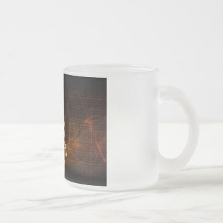 Immersive Technology and Music Sound Experience Frosted Glass Coffee Mug