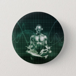 Immersive Technology and Music Sound Experience Pinback Button