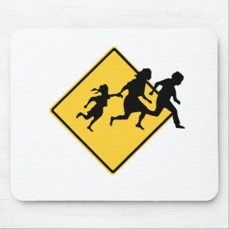 Immigrant crossing mousepads