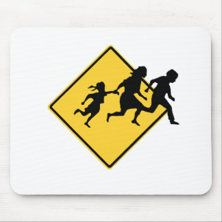 Immigrant crossing mouse pad