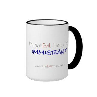 Immigrant - I'm not Evil Mugs