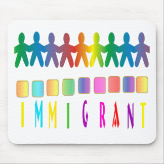 Immigrant Mouse Pad