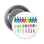 Immigrant Pinback Button