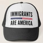 """Immigrants Are America Trucker Hat<br><div class=""""desc"""">Immigrants Are America</div>"""