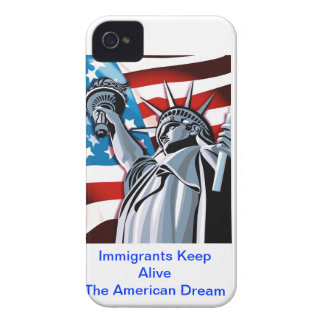 Immigrants Keep Alive the American Dream Case-Mate iPhone 4 Case