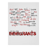 IMMIGRANTS POSTERS