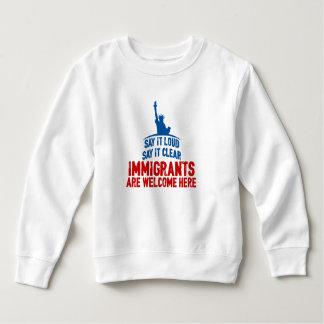 Immigrants Welcome Toddler Sweatshirt