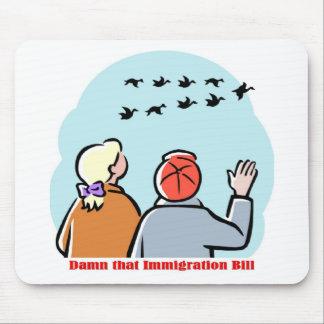 immigration bill mousepad