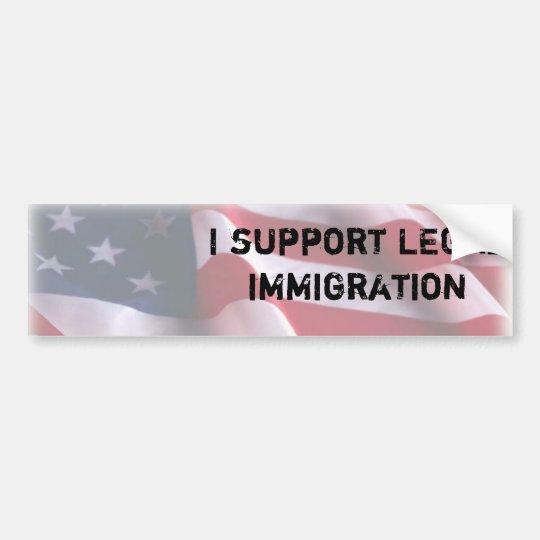 Immigration Bumper Sticker