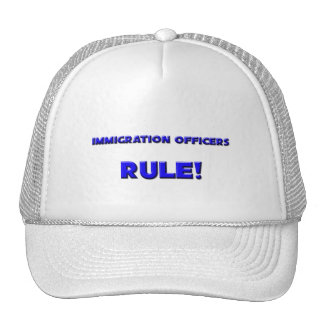 Immigration Officers Rule! Trucker Hats