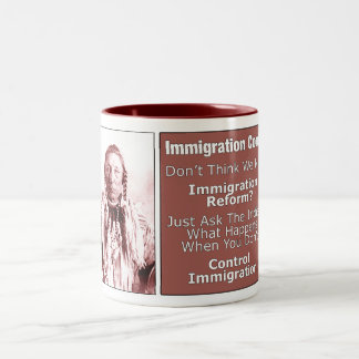 Immigration Reform Coffee Cup