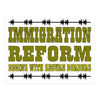 Immigration Reform Postcard