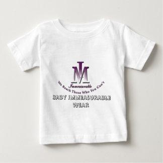 immlogo3white, Baby Immeasurable Wear Baby T-Shirt