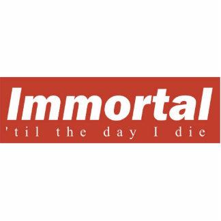 Immortal Desk Plaque Cutout