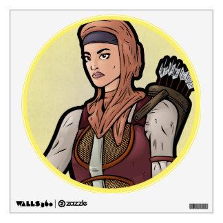 Immortal -- Female Wall Sticker