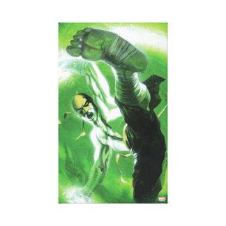 Immortal Iron Fist Kick Canvas Print