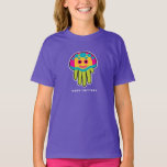 Hand shaped Immortal Jellyfish Lives Forever T-Shirt