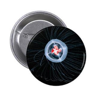 Immortal Jellyfish Round Button