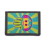 Hand shaped Immortal Jellyfish Trifold Wallets